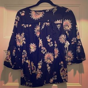 Floral Spring Dress Shirt